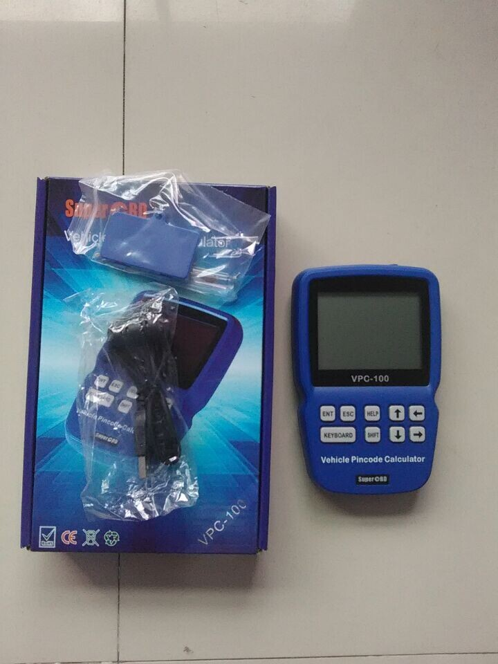 VPC100 VPC 100 immobilizer pin code reader calculator with 300+200 Tokens Hand Held VPC 100 Vehicle SUPER OBD pincode calculator