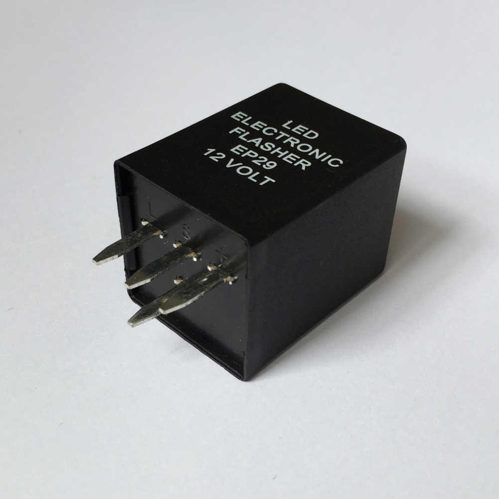 1 шт., автомобильный 4-контактный светодиодный проблесковый маячок декодер реле автомобильный эквалайзер поставки 12 V импульсное реле для поворотный сигнальный проблесковый огонь свет