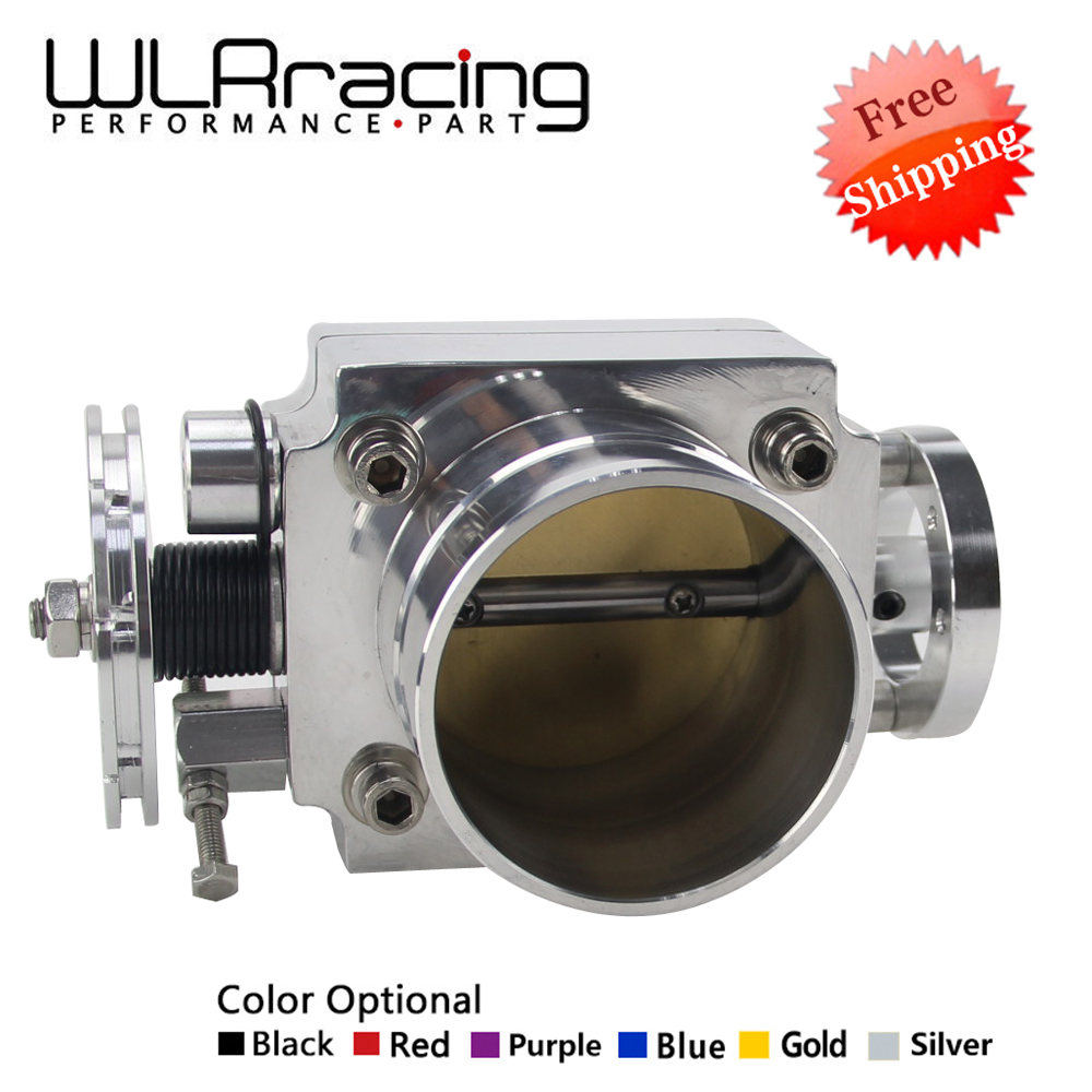 WLR RACING - FREE SHIPPING NEW THROTTLE BODY 80MM THROTTLE BODY PERFORMANCE INTAKE MANIFOLD BILLET ALUMINUM HIGH FLOW WLR6980 pqy racing free shipping new 90mm throttle body performance intake manifold billet aluminum high flow pqy6990