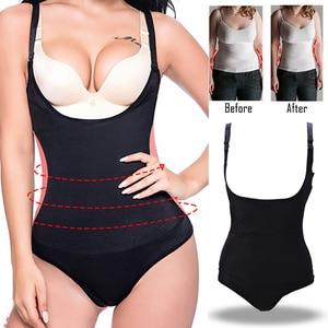Image 1 - Latex Full Body Shaper Taille Trainer Glad Lift Underbust Afslanken Ondergoed Body Shapewear Tummy Trimmer Vrouwen Corset