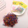 About 1000pcs/bag (small package) New Child Baby TPU Hair Holders Rubber Bands Elastics Girl's Tie Gum Hair Accessories