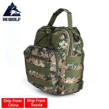 ФОТО (ship from russia & china) hewolf outdoor military shoulder tactical women men's backpack rucksacks sport camping climbing bag