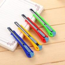 1 шт металлическая ручка утилита Ножи Бумага резак офисные школьные