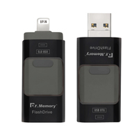 USB Flash Drive For Iphone 7plus Apple Pen Drive 16g 32g 64g Andorid OTG Pendrive For