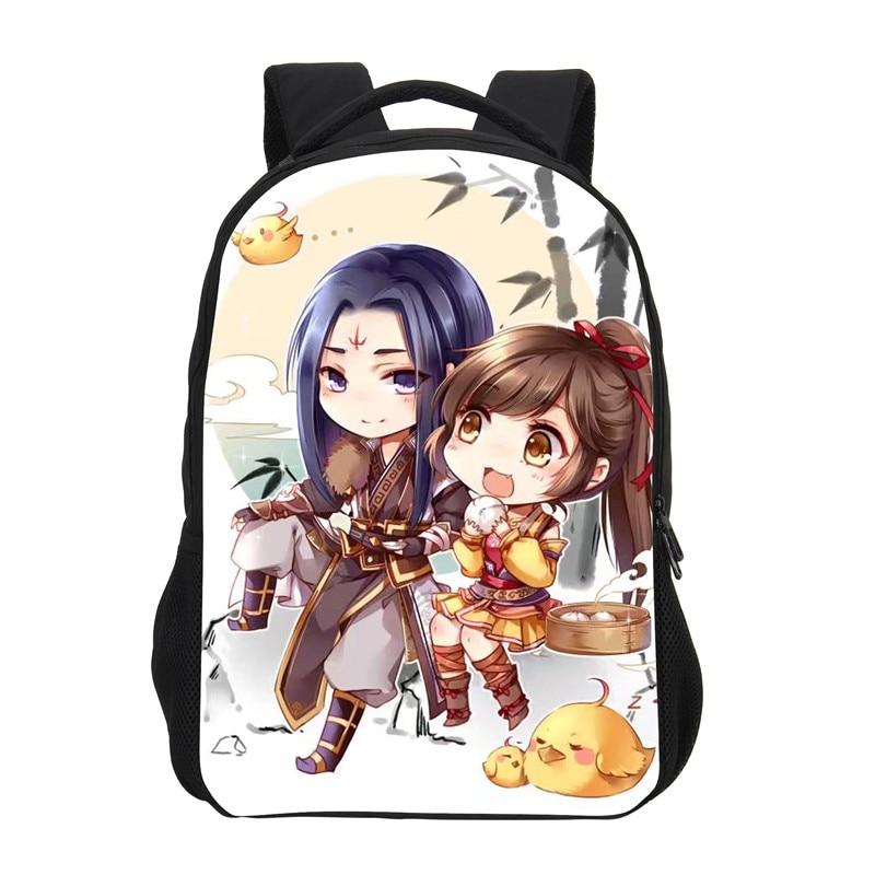 edd34f304b1 VEEVANV Girls Fashion Mochila New School Backpack Anime Printing Backpack  3D Cartoon Casual Daily Daypack Children Shoulder Bag
