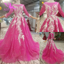 AIJINGYU Marriage Garden Long Sleeve Gowns Wedding Dress