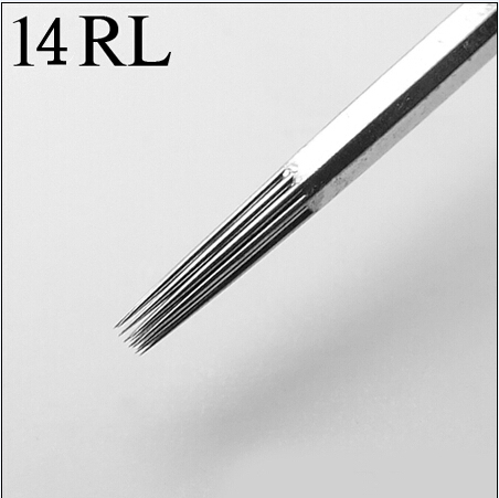14RL Best quality Tattoo Needles Supplier 100 pcs/Set Sterilize Tattoo Needles Round Liner Free Shipping