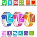 2016 Criança GPS Relógio Inteligente Relógio de Pulso Dispositivo de Chamada SOS Localização Rastreador para Kid Safe Anti Perdido Monitor Do Bebê Presente Q80 PK Q60