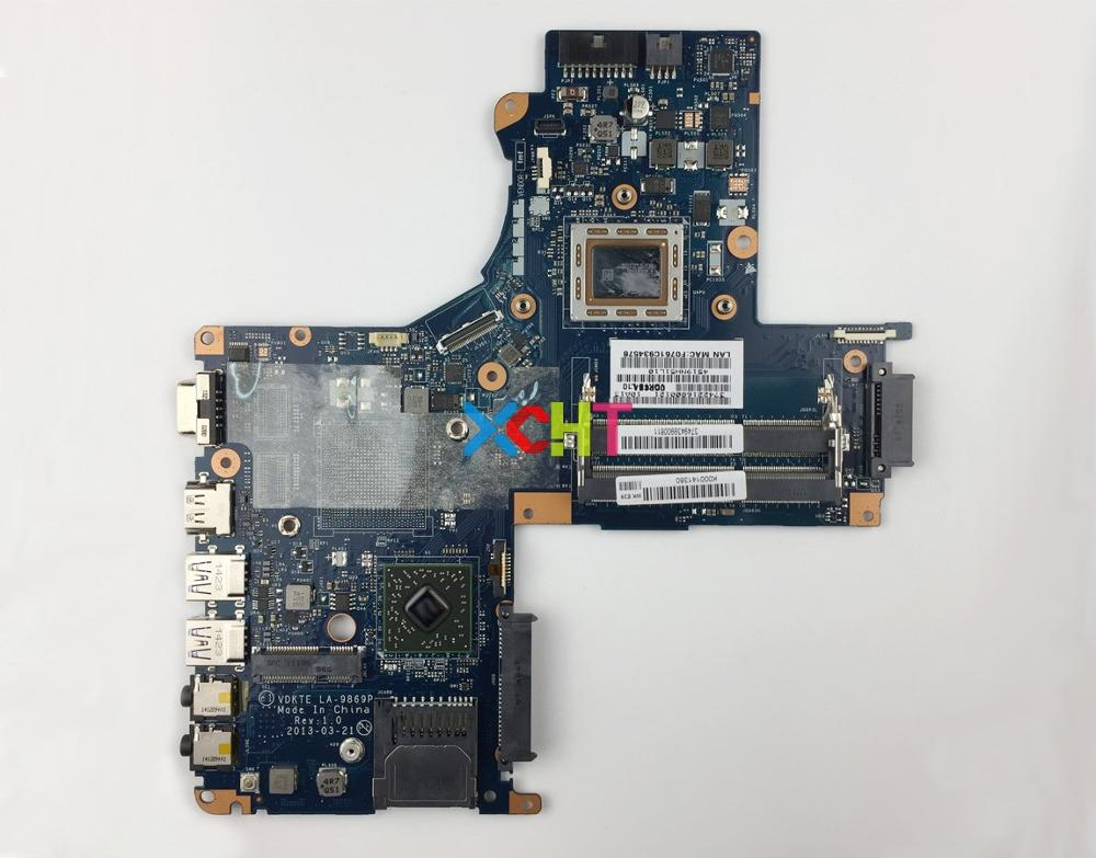 for Toshiba Satellite L40D A L40D L45D K000141380 LA 9869P w A8 5545M CPU Laptop Motherboard Mainboard System Board Tested-in Laptop Motherboard from Computer & Office