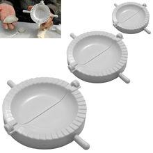 3 размера формы для пельменей тесто пресс устройство для пирога пельменей Wonton тесто Кондитерские инструменты кухня приготовления пельменей десерт чайник Cyoza плесень