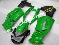 Лидер продаж, для Kawasaki Новое поступление запчасти ER 6F зеленый черный обтекатель 06 07 08 ER6F 2006 2007 2008 Пластиковый обтекатель ER 6F ниндзя 650