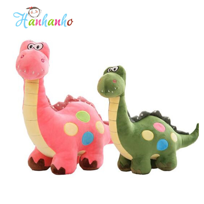 Dinosaur Plush Toy Stuffed Animal Doll Children Ridding Toy Birthday Gift For Kids 55cm stuffed animal 90 cm plush dolphin toy doll pink or blue colour great gift free shipping w166