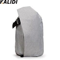 KALIDI resistente al agua 15 pulgadas portátil mochila bolsa de tableta bolsa para Macbook 13 15 17 pulgadas HP Dell Notebook bolsa de la escuela bolsas de las mujeres de los hombres