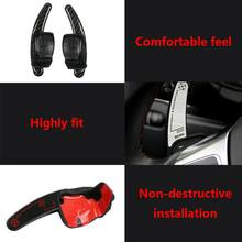 Car Steering Wheel Shift Paddle Extension Auto DSG Direct Shift Gear For Golf Jetta MK6 R20 CC R36 Car Parts(China)