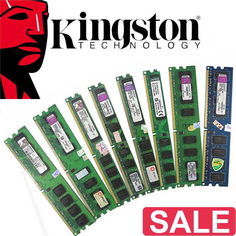 קינגסטון מחשב זיכרון RAM Memoria מודול מחשב שולחני 1GB 2GB PC2 DDR2 4GB DDR3 8GB 667MHZ 800MHZ 1333MHZ 1600MHZ 8GB 1600