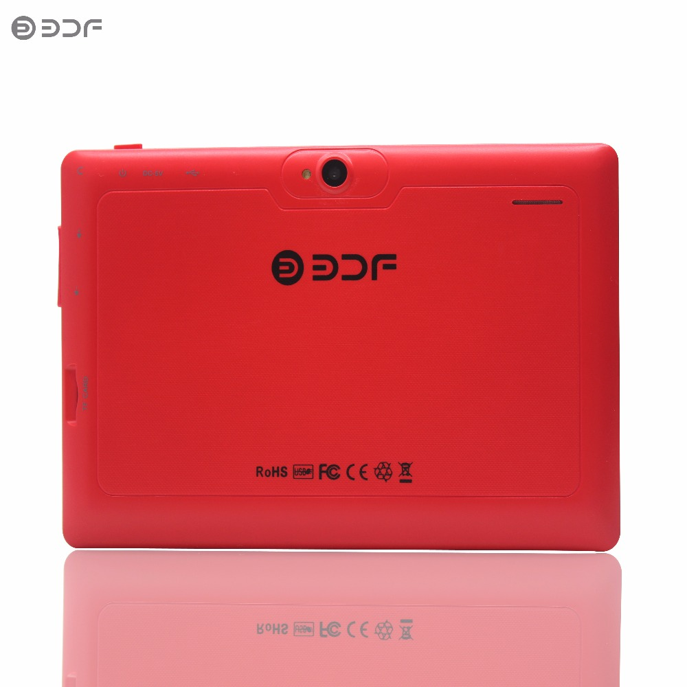 New 2017 Cheap 7 Inch Quad Core Tablets Pc Wifi Edition 512MB 8GB Dual Camera Nice Design Suitable For Gifts 1024*600 7 8 9 10