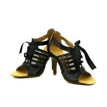 YOVE w122 18 Dance Shoe Cow Split and mesh Women s Latin Salsa Dance Shoes 3