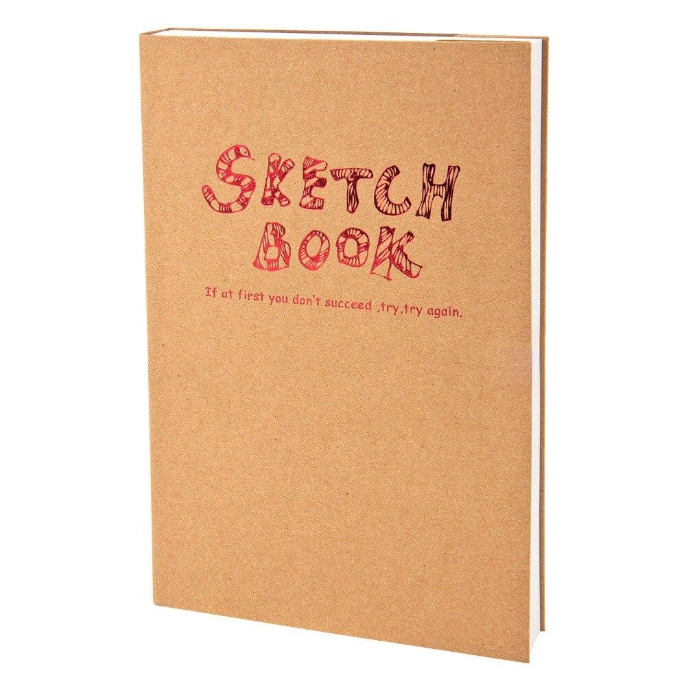 Potentat A4/A5 Carnet Bloc-Notes pour Artiste Croquis Dessin Conception, 120 Feuille Croquis Cru Livre Journal Dessin Portable Cadeau