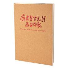 Potentate A4/A5 Sketchbook notatnik dla artysty szkic rysunek projekt, 120 arkusz Vintage szkicownik pamiętnik rysunek Notebook prezent