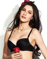 Vogue Secret Hot Sales Bra Brand Luxury Women Brassiere Sexy Black Red Nude BH Lingerie Fashion