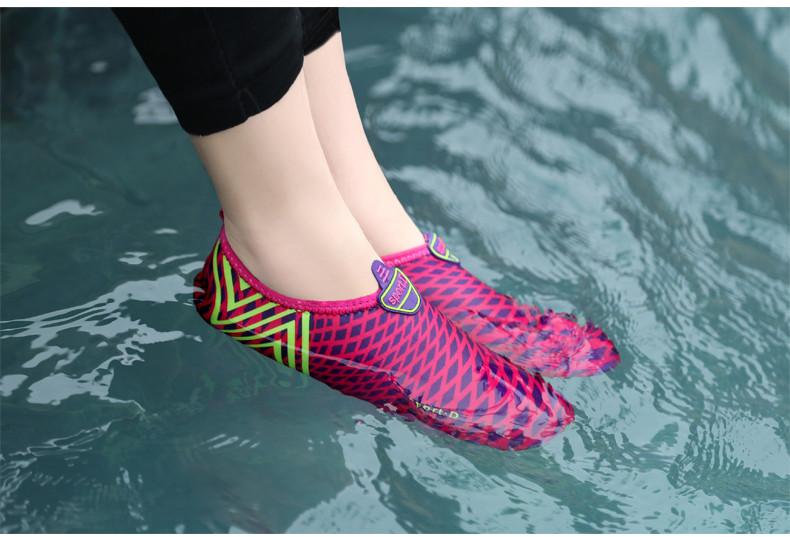 03e693055bdb2 Fashion Women Swimming Shoes Hot Flats Summer Beach Women Shoes ...