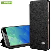 Meizu M5S случае 5.2 Обложка Силикон ТПУ задняя крышка Алюминий флип кожа твердого металла Оригинал MOFI Meizu M5S мини случае Coque принципиально