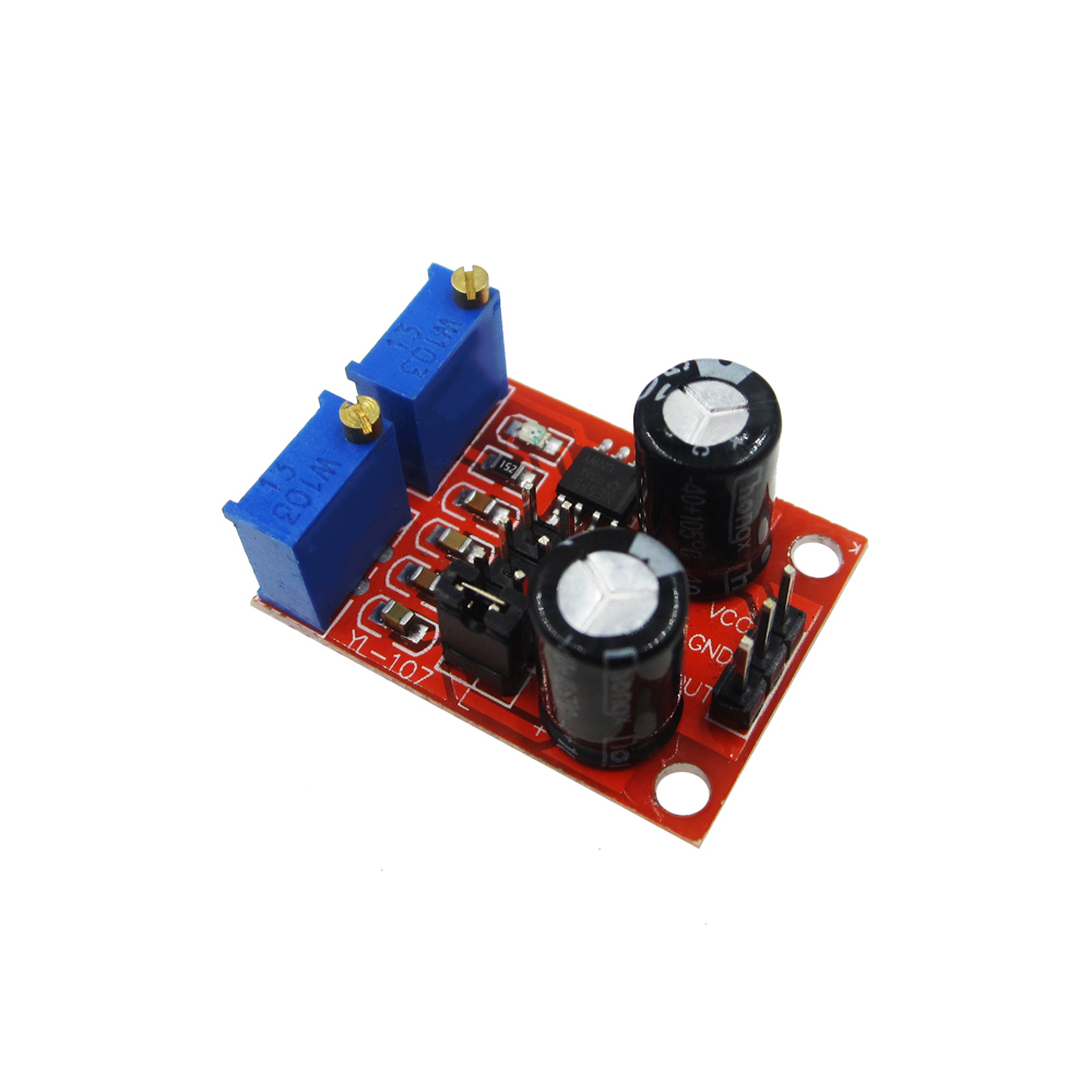 1pcs/lot NE555 Pulse Frequency Duty Cycle Adjustable Module Square Wave