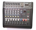 Pro 6 Channel Live Studio Audio Mixers Mixer Mixing Console 800W Power Amplifier