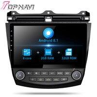 Android 8.1 Autoradio 10.1 2din Octa Core Car GPS Navi for Honda Accord 7 2004 2005 2006 Multimedia Audio Stereo NO DVD MP3