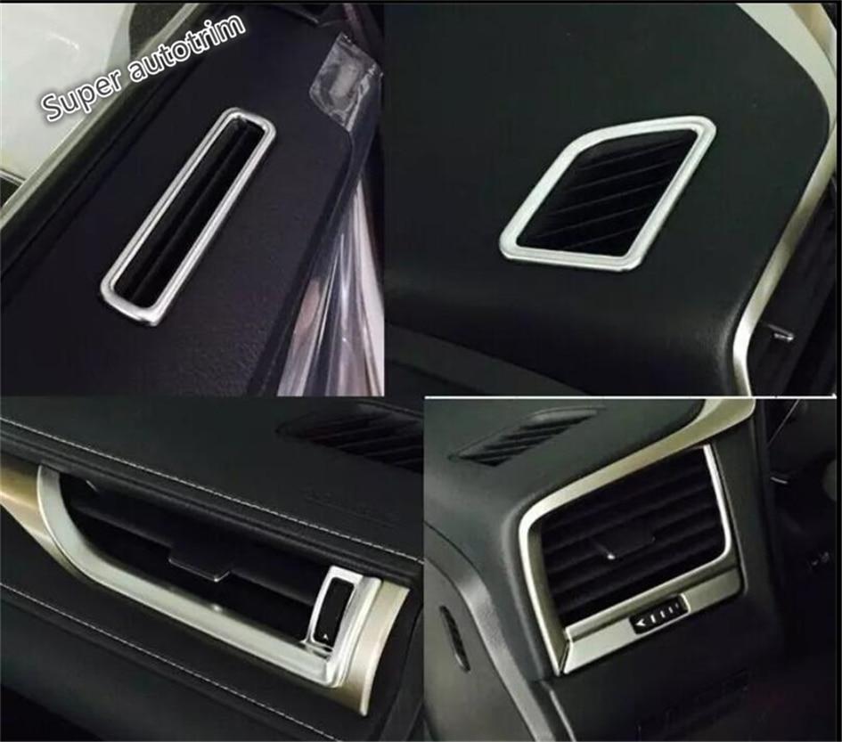 Lapetus Dashboard Acondicionador de aire AC Vent Outlet Cover Trim 7 - Accesorios de interior de coche - foto 2