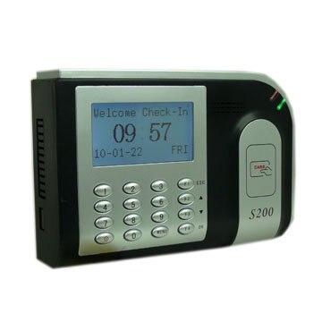 S200 NOIR 125 khz RF CARTE Promixty temps horloge Terminal avec TCP/IP logiciel SDK