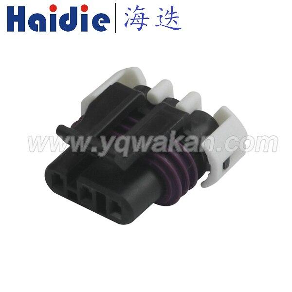 Kostenloser versand 5sets 3pin Auto Wasserdichte Elektrische Verbinder Stecker (1,5) weibliche Lager position sensor stecker 12059595|Steckverbinder|   -
