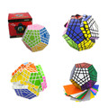 2016 Shengshou Novo 5x5x5 Cubo de Velocidade Gigaminx Magic Cube Enigma Preto e Branco Aprendizagem & Educational Cubo Magico Brinquedos Como Um Presente