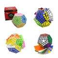 2016 Shengshou Nueva 5x5x5 Cubo de la Velocidad Gigaminx Cubo Mágico Puzzle Blanco y Negro Aprendizaje y Educativos Cubo Mágico Juguetes Como Regalo