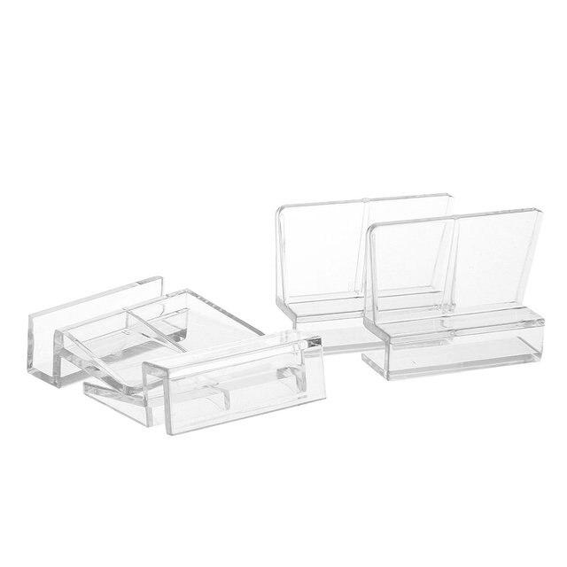 4x Aquarium Fish Tank Acrylic Fixed Cover Clip Clamp Support Holder