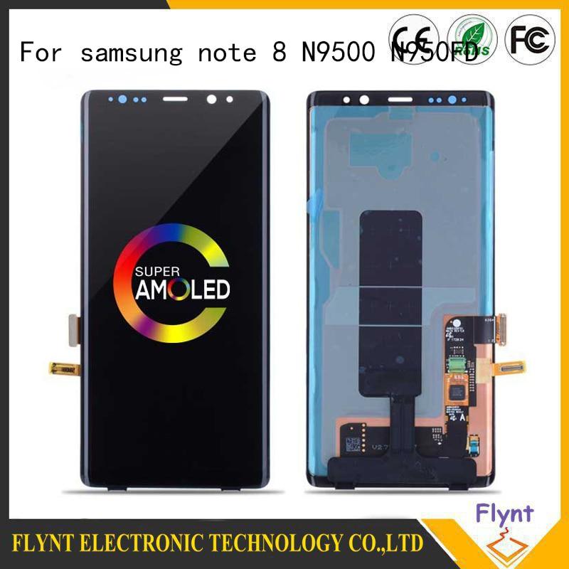 2019 Super AMOLED Original LCD For SAMSUNG Note 8 N950FD N950U LCD Screen for Note 8