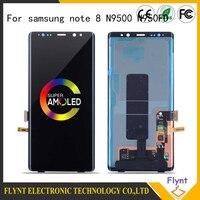 2019 супер AMOLED Оригинальный ЖК дисплей для SAMSUNG Note 8 N950FD N950U ЖК экран для Note 8 N950F дисплей сенсорный экран дигитайзер сборка