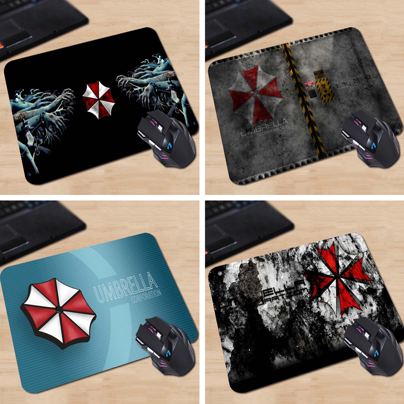 Umbrella Corporation Rectangle Anti-Slip Laptop PC Mice Pad Mouse Mats