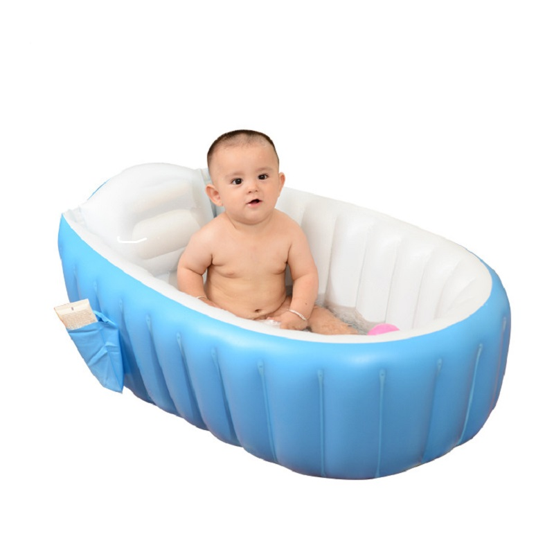 Baby  Domestic Inflatable Folding Bathtub Swimming Pool