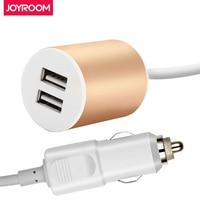 JOYROOM 12-24โวลต์Dual USBรถชาร์จกับ1.5