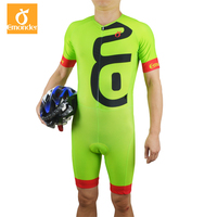 Customized Men's Triathlon Cycling Jersey Pro team Cycling Skinsuit Jumpsuit Running Swimming Sports Clothing Ciclismo Maillot