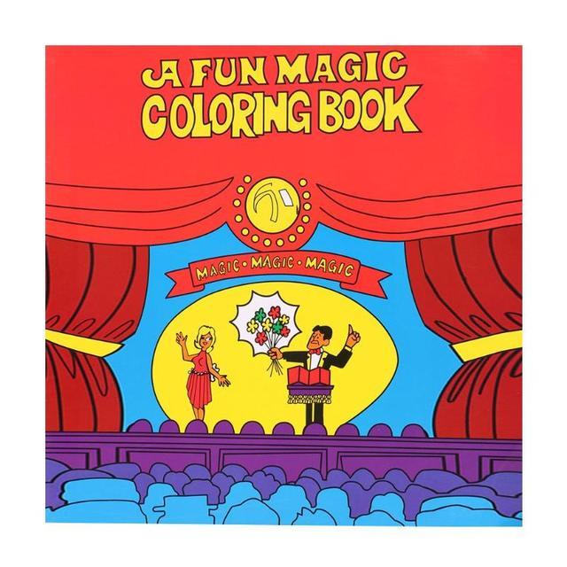 Libro Mágico Para Colorear Dibujos Animados Trucos Mágicos Accesorios De Actuación De Escenario Niños Herramientas De Mago Niños Juguete Clásico