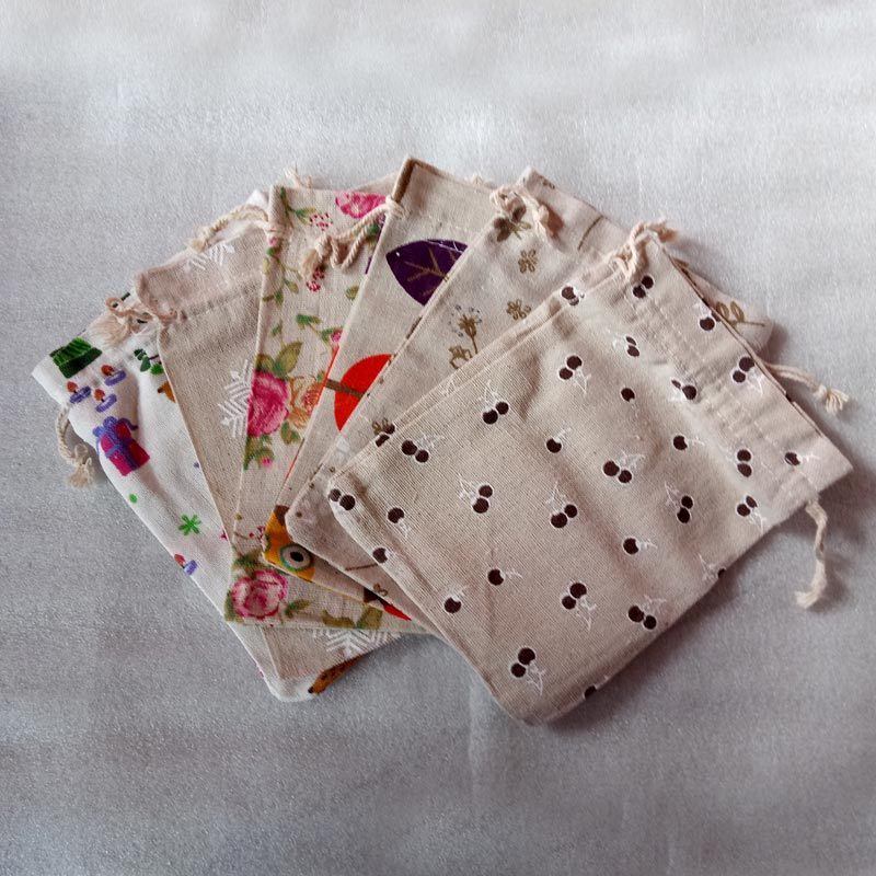 5a7ae539e9dc US $8.91 55% OFF|20pcs fashion pattern gift jute bag Cotton thread  Drawstring bags jewelry Packaging Display for Wedding/Party/Birthday pouch  diy-in ...