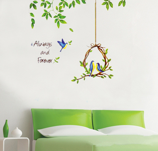 home decor wall sticker romantic for kids rooms bathroom decoration