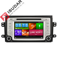 Two Din 7 Inch Car DVD Player For SUZUKI/SX4 With 3G USB Host Radio GPS Navigation BT 1080P Ipod Free Maps
