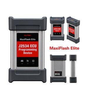 Image 3 - MaxiCOM MK908P OBD2 MS908P Car Automotive Ferramenta de Diagnóstico Scanner Autel Maxisys Programador ECU Codificação programação J2534 PK Elite