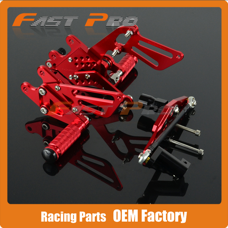 CNC Motorcycle Adjustable Billet Foot Pegs Pedals Rest For HONDA CBR1000RR CBR1000 RR 2008 2009 2010 2011 2012 2013 2014 2015 front rider foot pegs brackets for honda cbr1000rr cbr 1000 cbr1000 rr 2008 2009 2010 2011 2012 2013 2014 2015 black