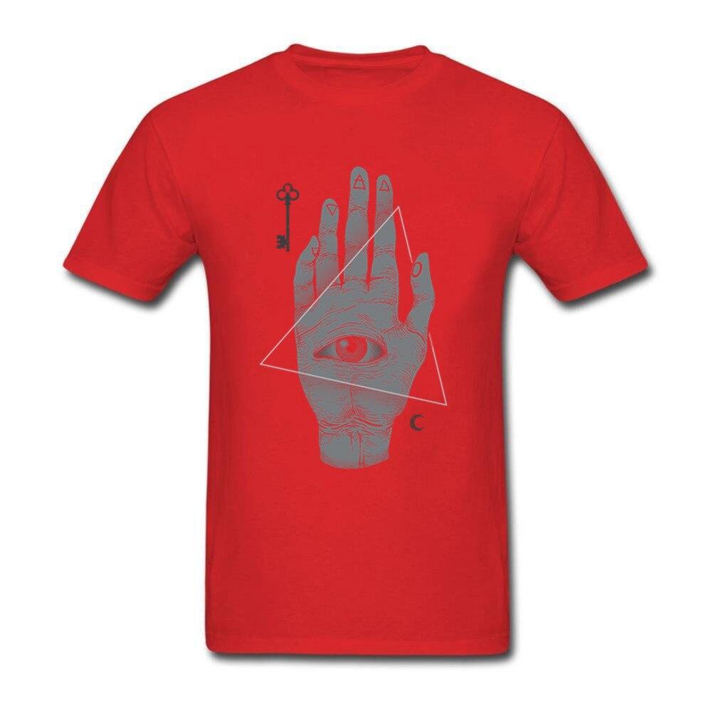 illuminati seeing eye witch cool summer hand clothing