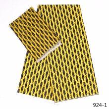 African Silk Satin Fabric for Party Dress 100% Modal Wax Prints african Ankara new Chiffon High Quality 924-1