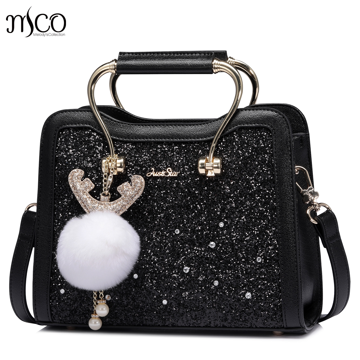 Womens Fashion Cute Girls Sequins Handbags Paillette Leisure Leather Ladies Messenger Bags Sac a main femme de marque luxe guir caerlif woman handbags genuine leather messenger crossbody bags ladies sac a main femme de marque luxe cuir 2017 shoulder bags